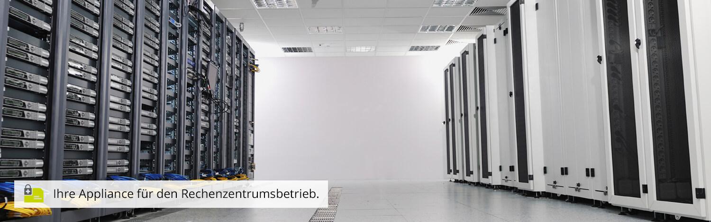 SEPPmail Appliance Rechenzentrumsbetrieb