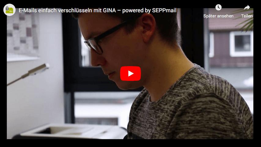 SEPPmail GINA Technologie Erklaervideo